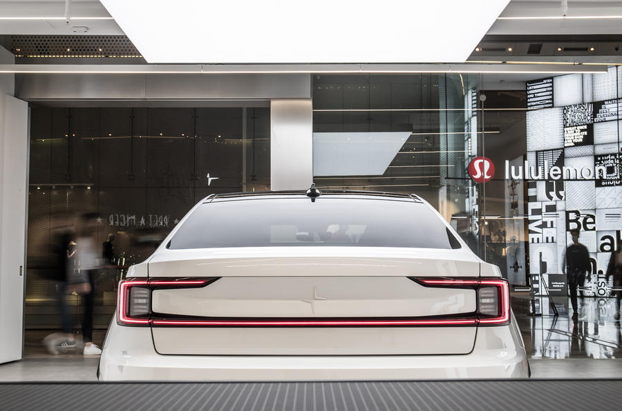 Polestar Space London opening official images - rear end