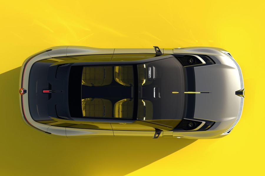 Renault Morphoz concept official studio images - aerial