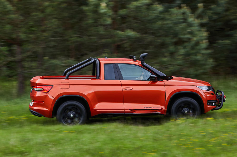 Skoda Mountiaq concept first drive review - offroad side