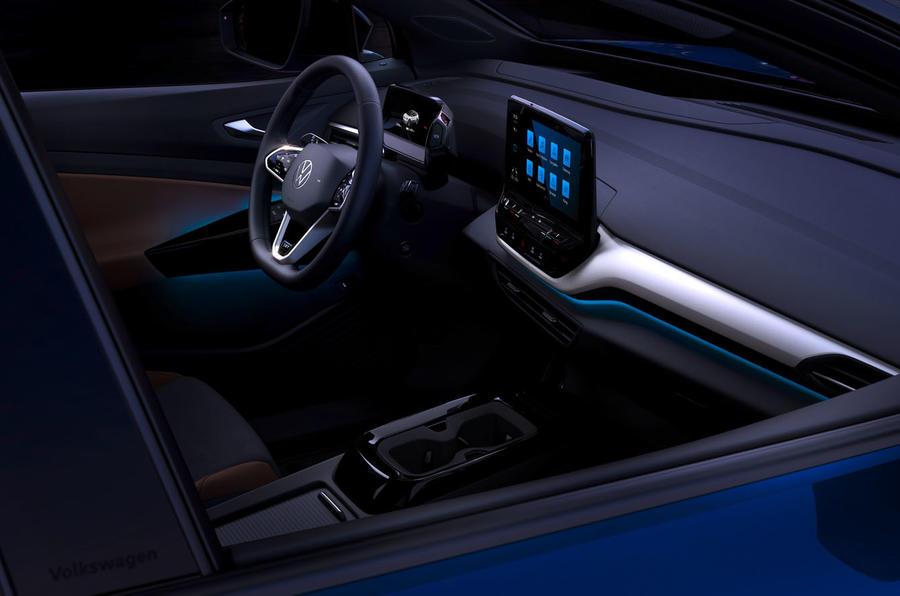 2021 Volkswagen ID 4 prototype drive - cabin