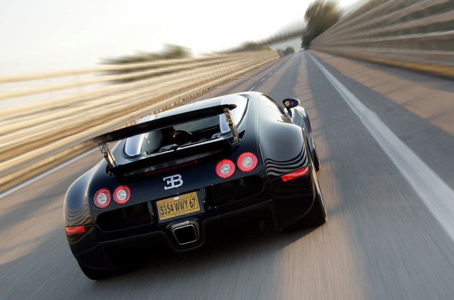 World's fastest production cars - Bugatti Veyron