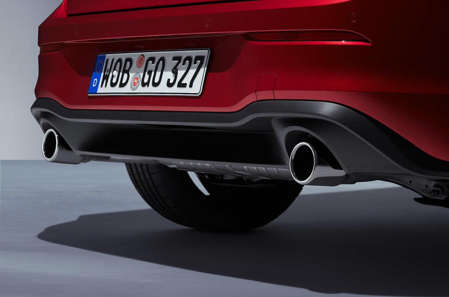 Volkswagen Golf GTI 2020 - exhausts