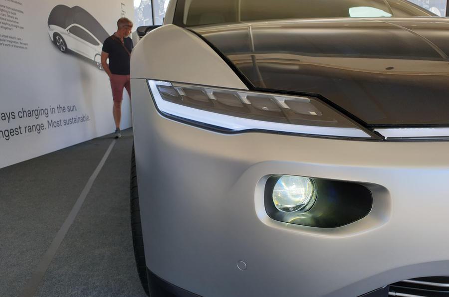 Lightyear One at Goodwood 2019 - headlights