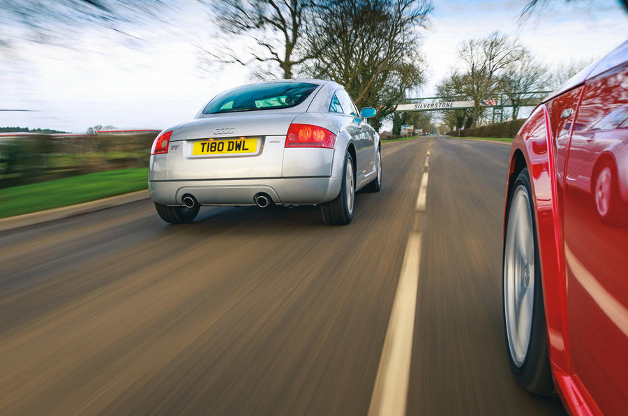 Audi TT Mk1 - hero rear