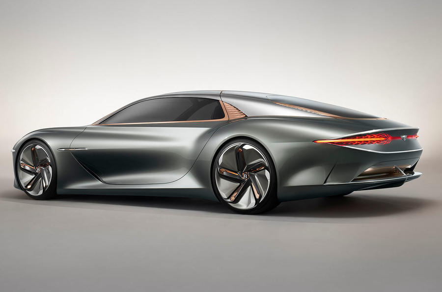 Bentley EXP 100 GT Concept official images - hero rear