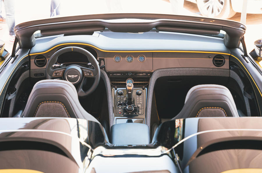 Bentley Mulliner Bacalar - interior
