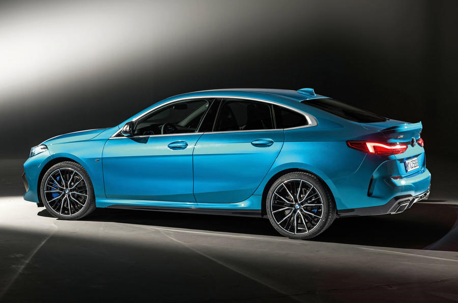 BMW 2 Series Gran Coupé studio reveal - rear