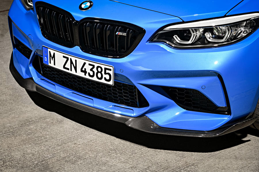 BMW CS 2020 official press images - front splitter