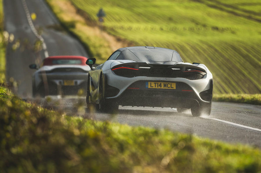 Britain's best drivers car 2020 - Aston Martin vs McLaren