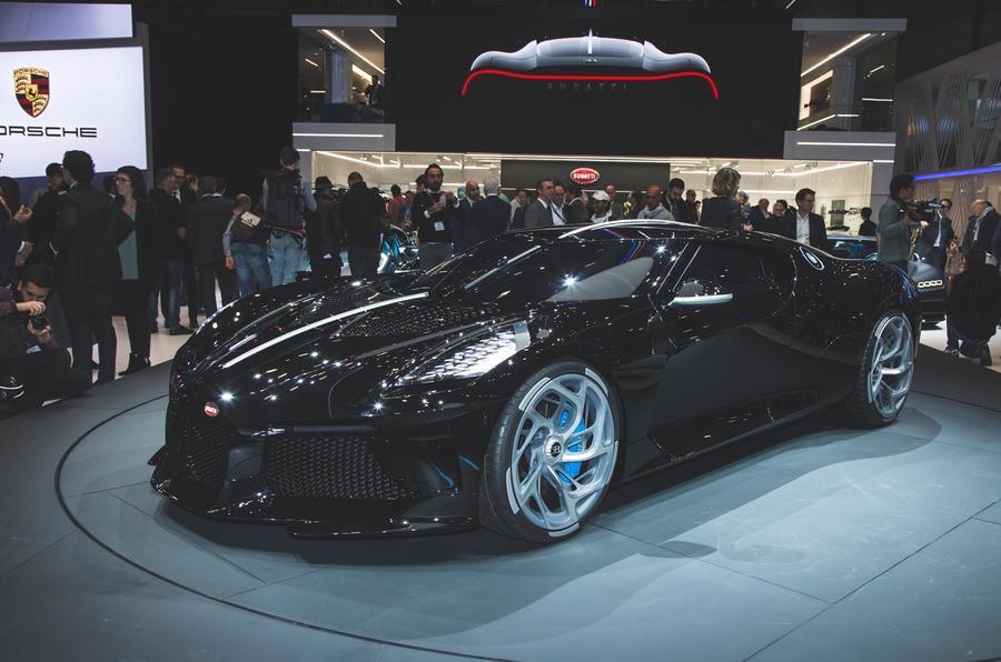 Bugatti La Voiture Noir reveal - front