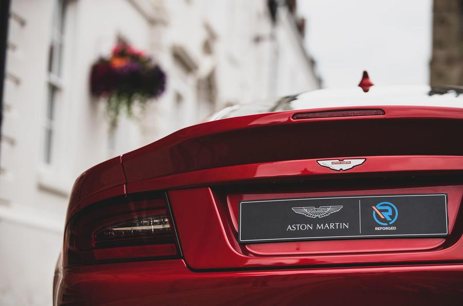 Callum Aston Martin Vanquish 25 first drive review - rear end