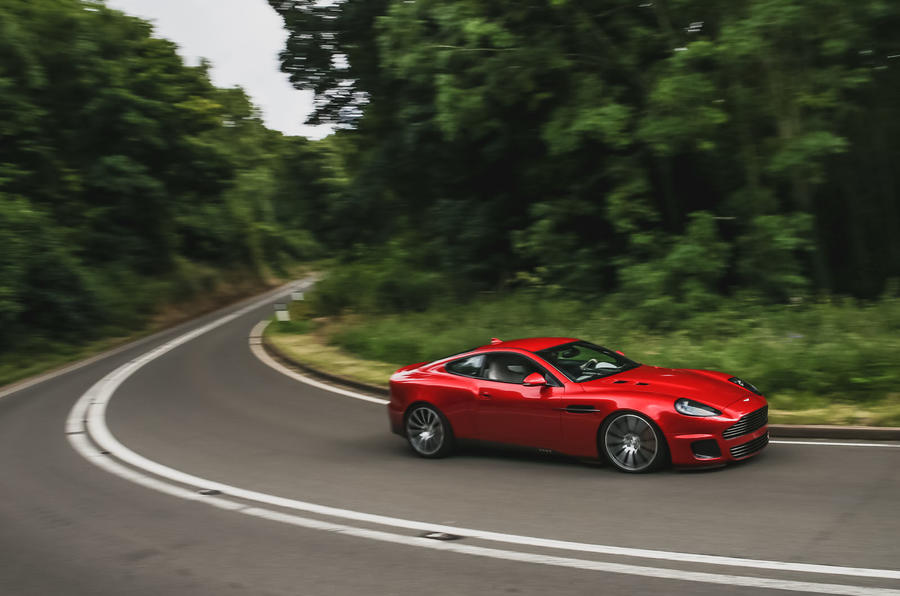 CALLUM Vanquish 25 production specification revealed - on the road side
