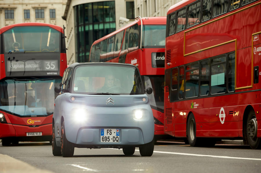 Citroen Ami (LHD) 2020 UK first drive review - busses