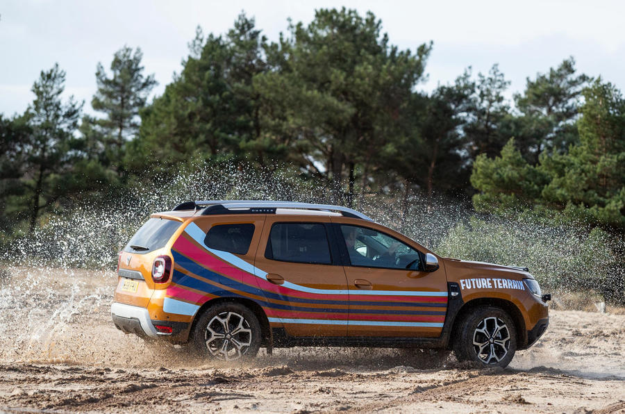 Dacia x Future Terrain - side action