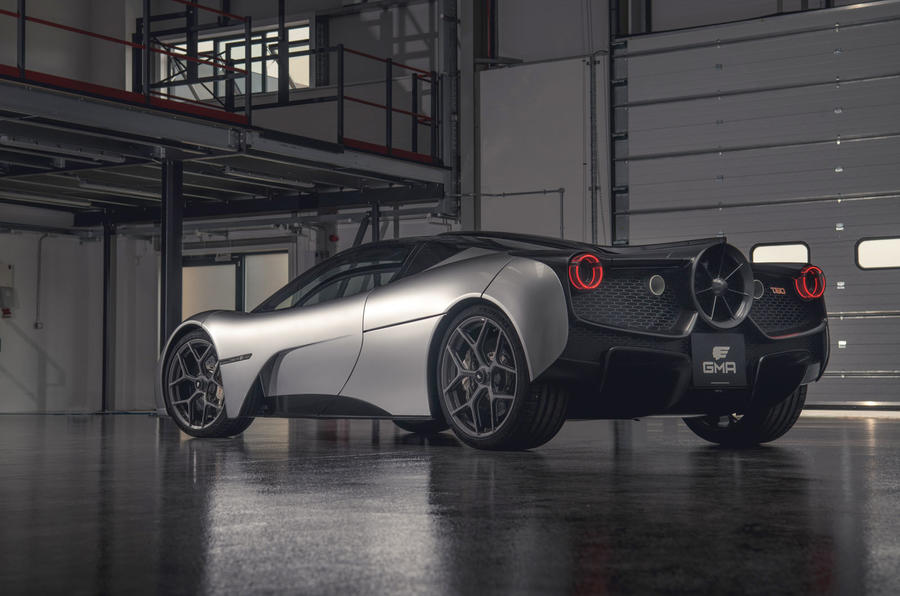 Gordon Murray T50 official reveal - rear