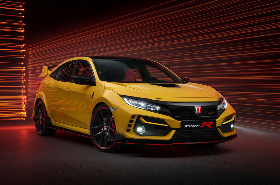 Honda Civic Type R limited edition 2020 official press photos - front