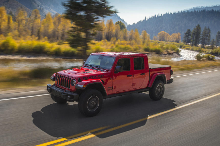 Jeep Gladiator official press image - hero