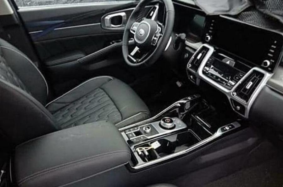 2020 Kia Sorento facelift - interior