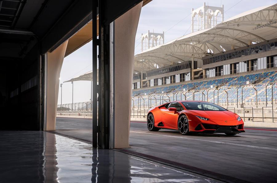 Lamborghini Huracan Evo 2019 first drive review - static front