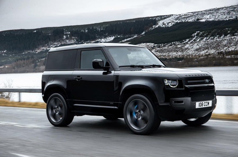 New Land Rover Defender V8 gets 518bhp and bespoke styling ...