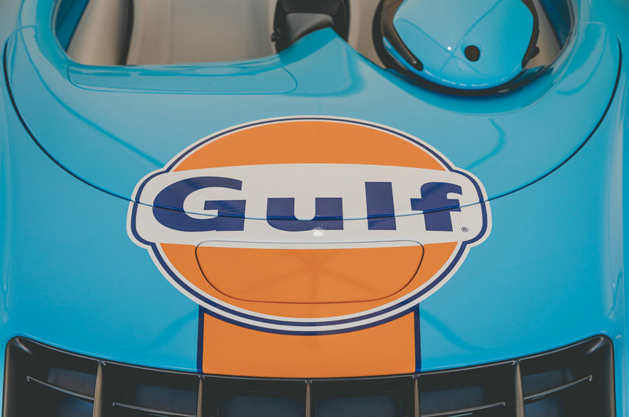 McLaren Elva Goodwood Speedweek reveal - bonnet