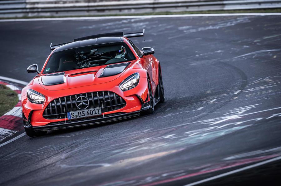 Mercedes-AMG GT Black Series Nurburgring record - carousel