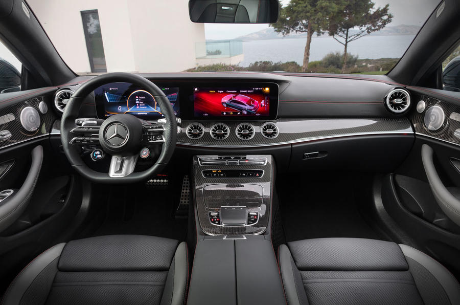 Mercedes-Benz E-Class coupe 2020 facelift - official images - interior