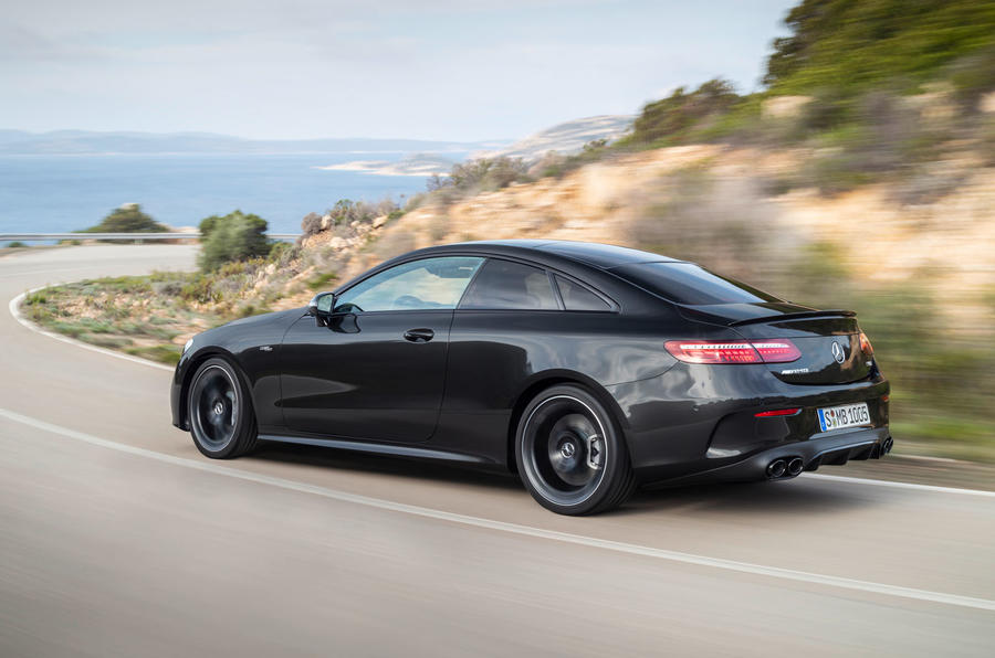 Mercedes-Benz E-Class coupe 2020 facelift - official images - rear