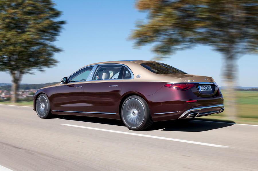2021 Mercedes-Maybach S-Class official images - hero rear