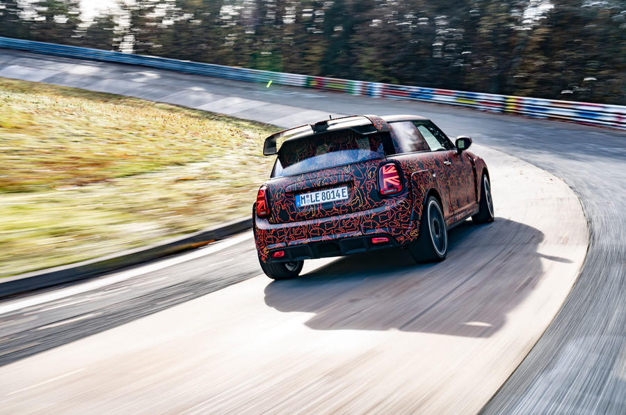 Mini JCW GPE prototype official images - rear