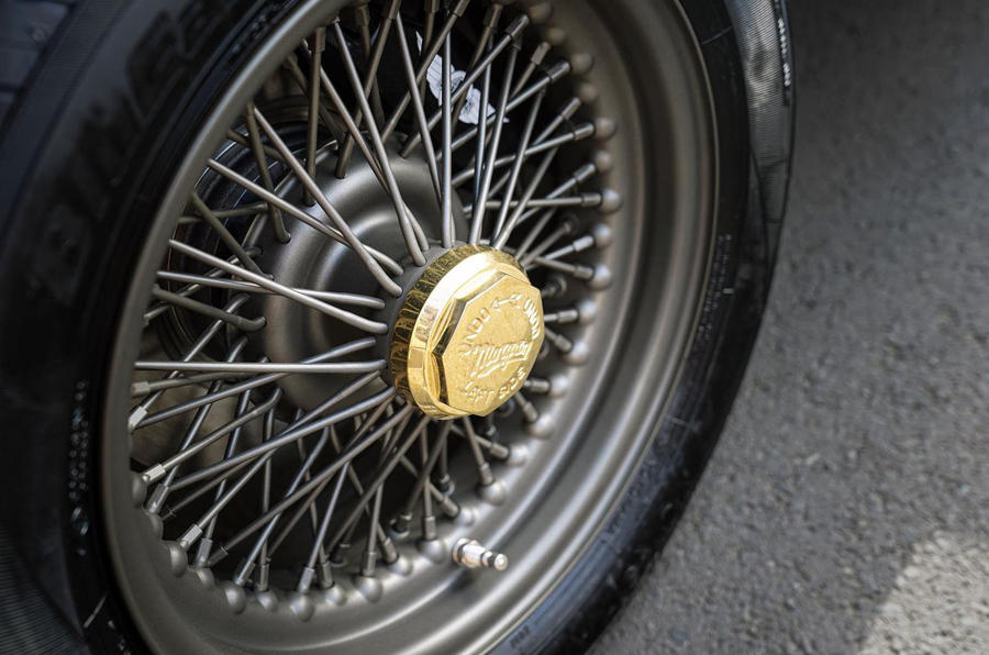 Morgan Plus Four 70th anniversary - wheels