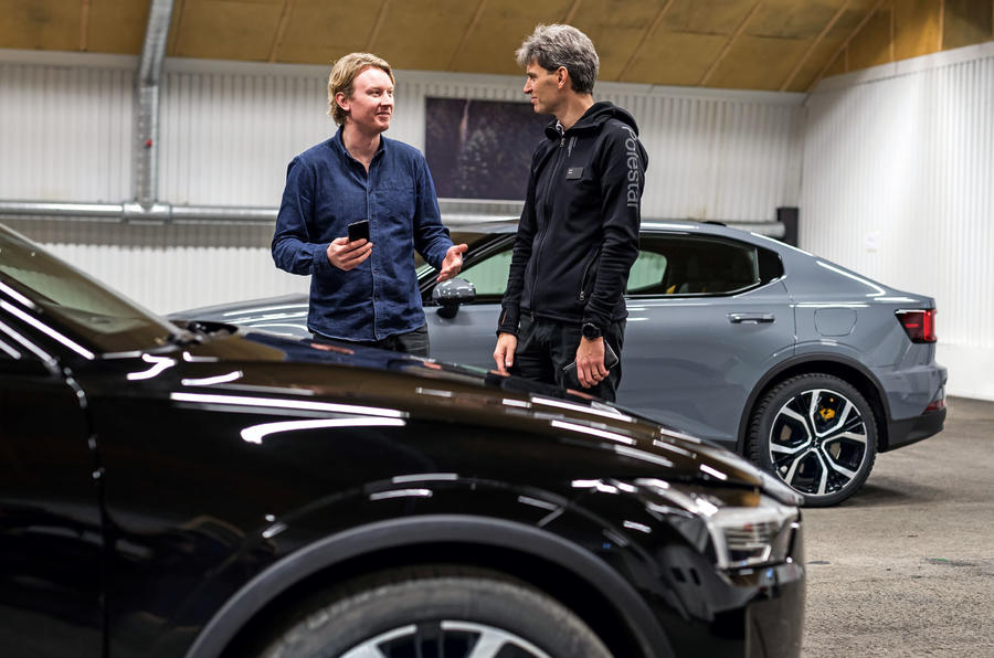 2020 Polestar 2 prototype drive - interview