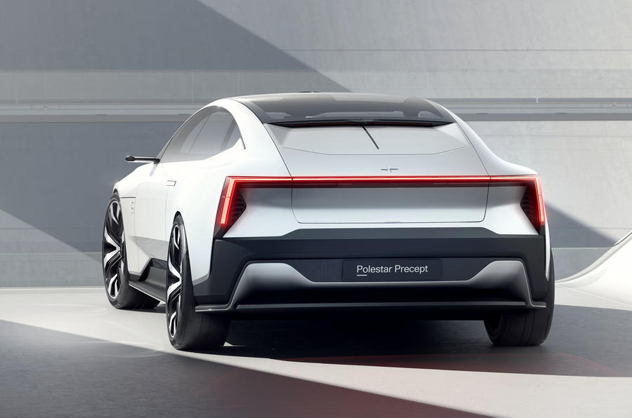 Polestar Precept concept official images - static rear