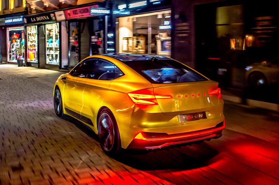 First drive: 2020 Skoda Vision iV prototype | Autocar