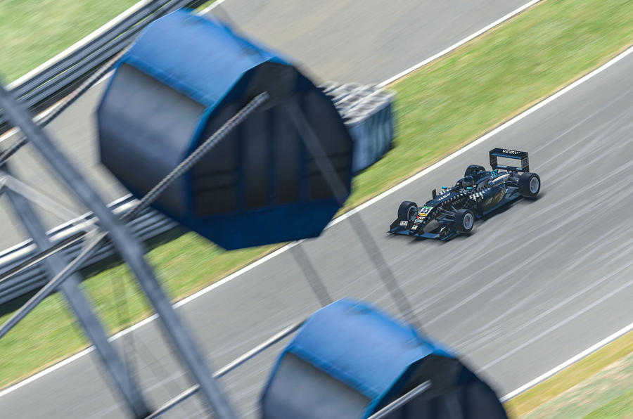 VCO proSIM racing series preseason - ferris wheel