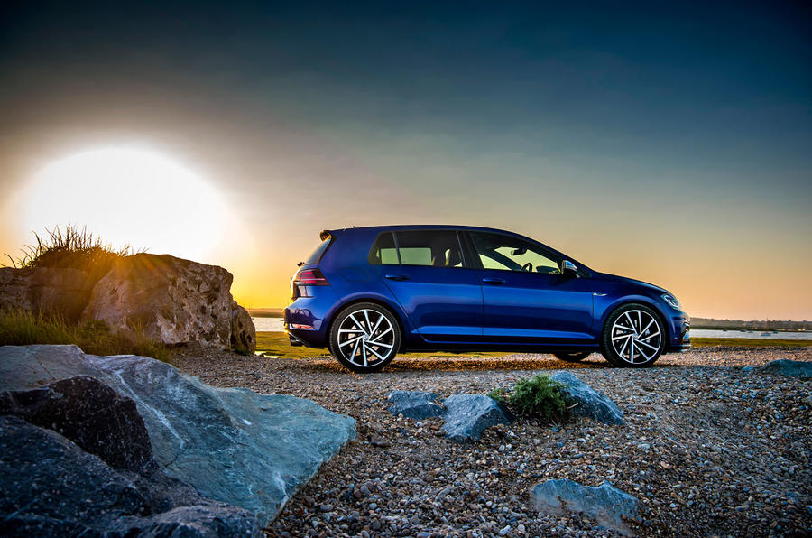 Volkswagen Golf R Performance Pack 2018 review static side