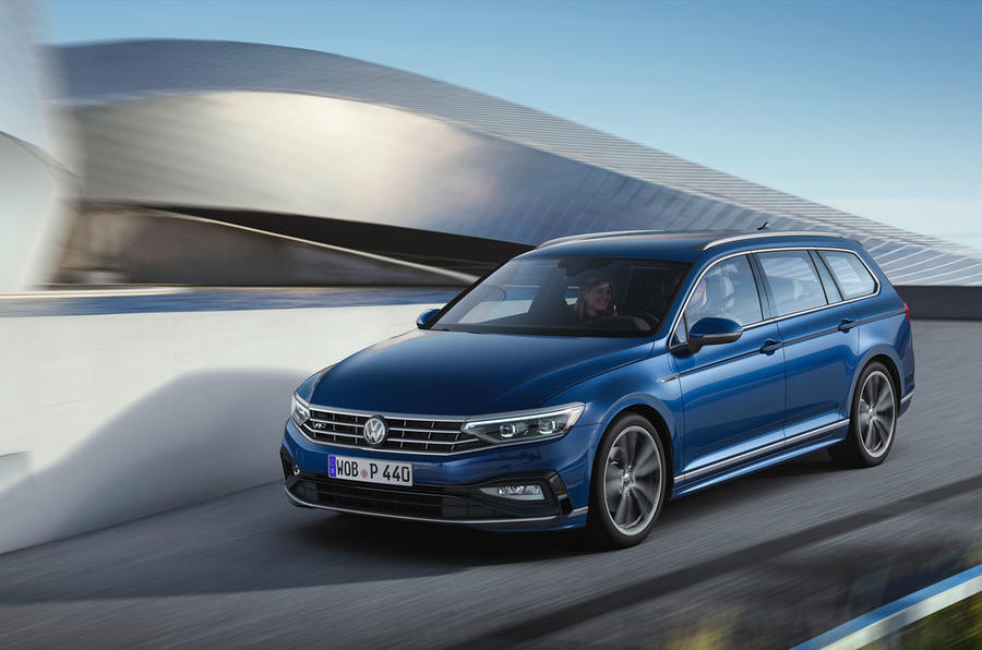 Volkswagen Passat 2019 press - driving