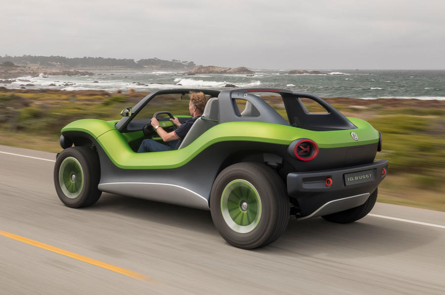 Volkswagen ID Buggy concept first drive - hero rear