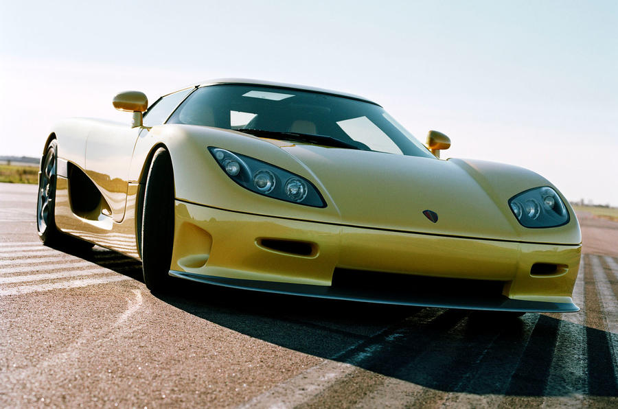 World's fastest production cars - Koenigsegg CCR