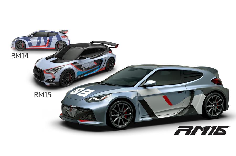 Hyundai RM16, RM15 and RM14