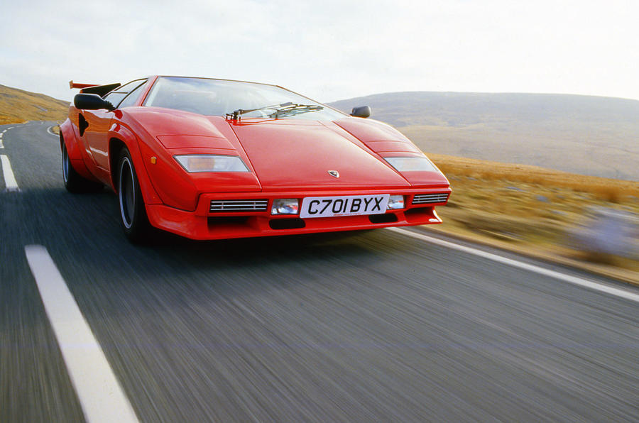 Lamborghini Countach LP500S 1982 - tracking front