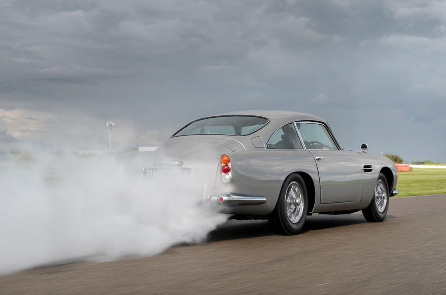 First Aston Martin DB5 Goldfinger Continuation built | Autocar