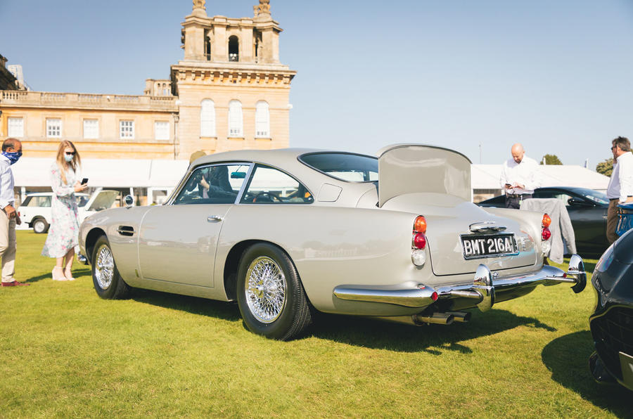 Aston Martin DB5 Goldfinger Continuation first customer car