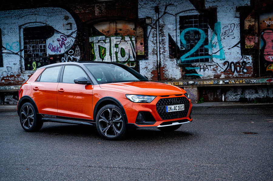 Audi A1 Citycarver 2019 first drive review - static front
