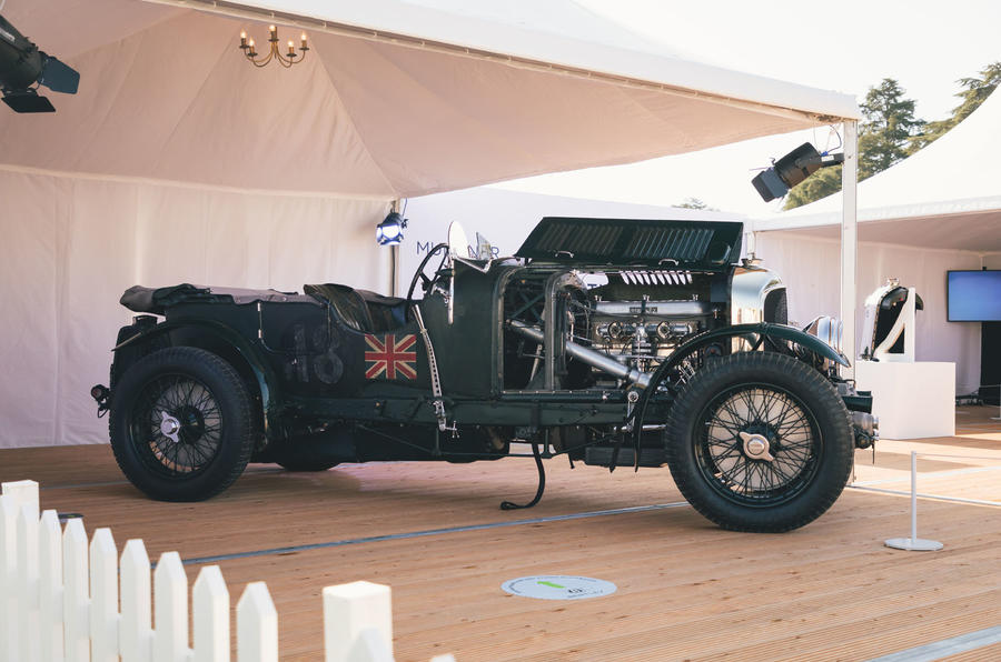 Bentley Blower Continuation - side