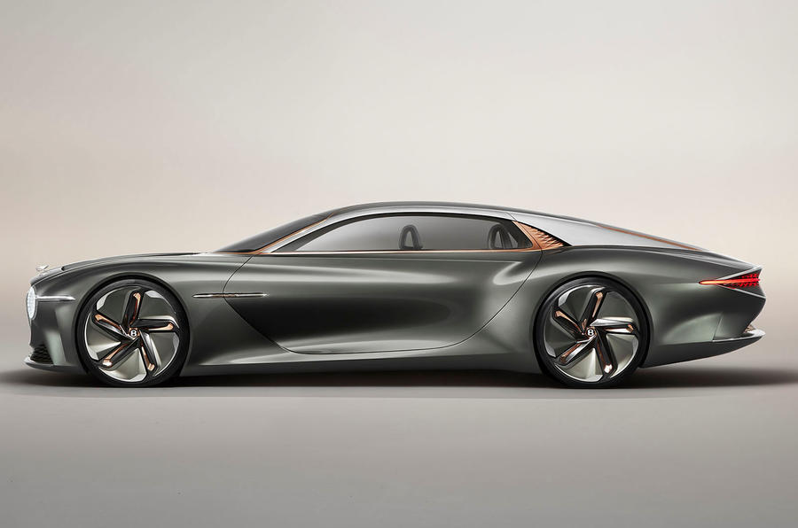 Bentley EXP 100 GT Concept official images - hero side