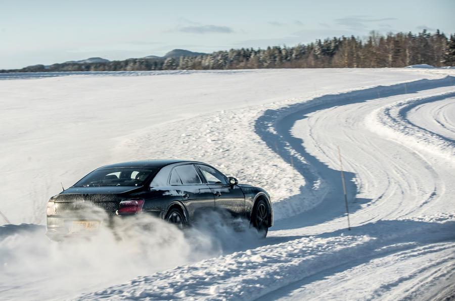 Bentley Flying Spur 2020 development ride - hero rear