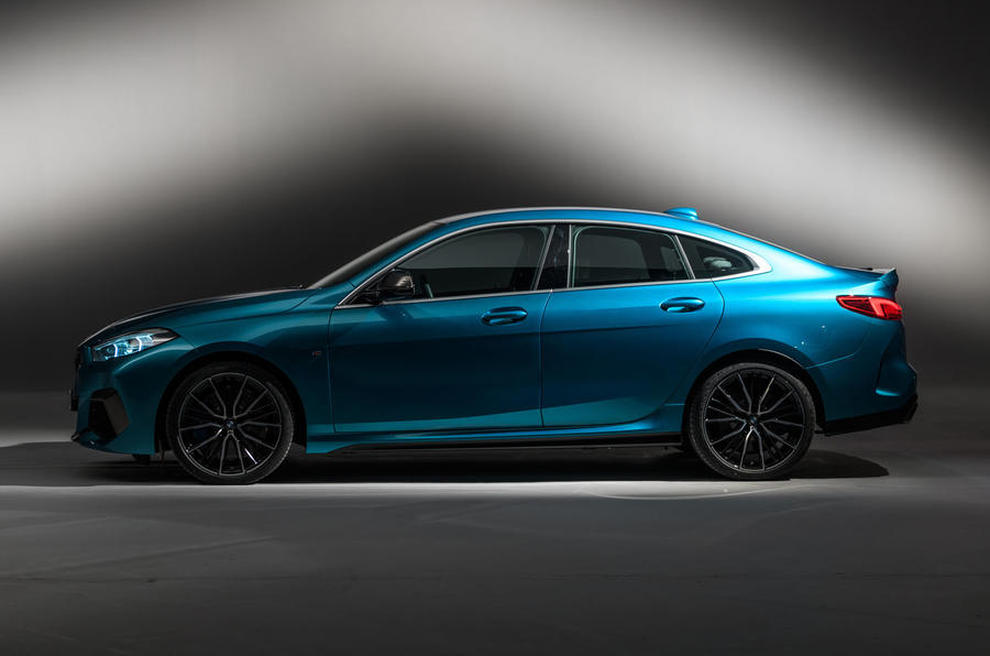 BMW 2 Series Gran Coupé studio reveal - side
