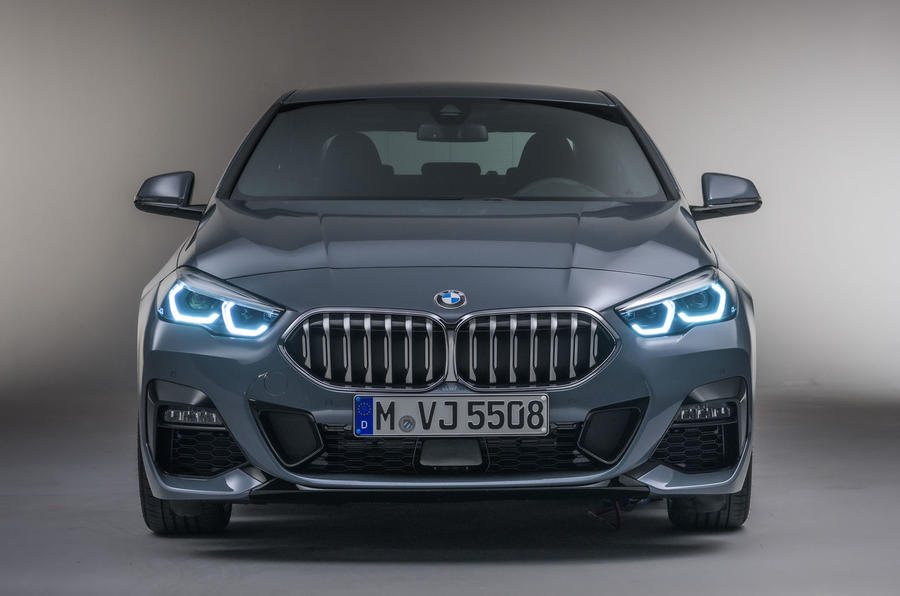 BMW 2 Series Gran Coupe studio static - nose
