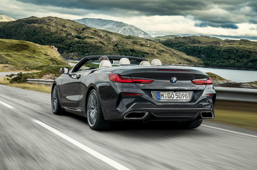 BMW 8 Series cabriolet 2018 official reveal - hero rear
